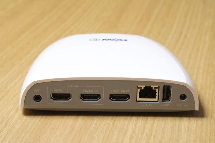 Now E 盒子提供一組 HDMI 輸出及兩組 HDMI 輸入,方便連接不同裝置。