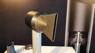 新設計的造型風咀更寬更扁,務求可吹出更精準造型。