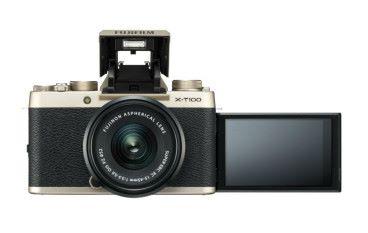 Fujifilm X-T100 金色機身夠矚目