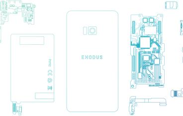 去中心化兼提升用戶私隱 HTC 宣布開發區塊縺手機「Exodus」