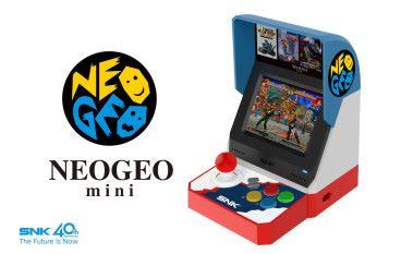 SNK 確認推出 NEOGEO Mini