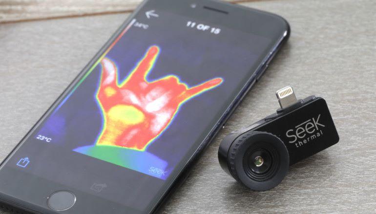 【另類鏡頭】試用手機紅外線熱像探測器