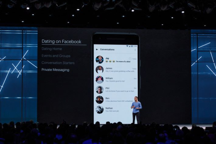 Facebook 目前有 20億用戶,要成為交友平台當然很容易。