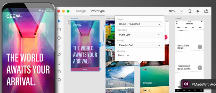Adobe XD 能夠方便大家設計 UX / UI。
