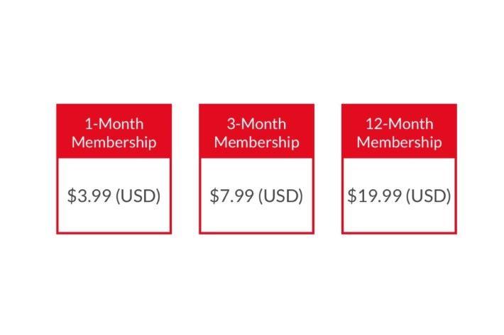Nintendo Switch Online 收費計劃有三個選擇。