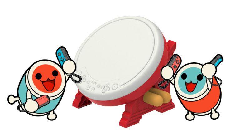 有鼓打!! HORI 推出《太鼓之達人》Switch 專用控制器