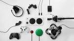 Xbox Adaptive Controller 可以配合各種控制器,讓殘障人士也可以享受電視遊戲樂趣。