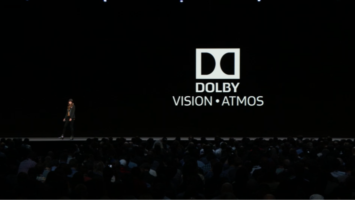 .Apple TV 4K 經過升級到 tvOS 12 後,將支援 Dolby Vision 影像 及 Dolby Atmos 音效,成為唯一一部「雙杜比」認證機頂盒。