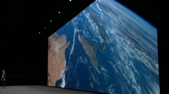 .tvOS 將加入多個新的4K製作屏期保護影片,當中包括一條在大氣圈影著地球地面的影片,相當好睇。