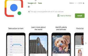 Google Lens 登陸香港 但不是所有手機都用到 ?