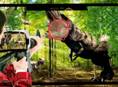 AR 狂熱 !! 無人島上打恐龍