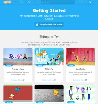 官方網站提供程式編程外,也有簡單教學提供。