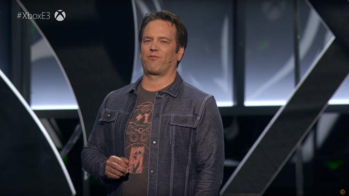 Xbox 主管 Phil Spencer 。