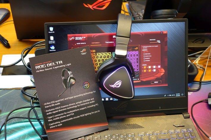 ROG Delta 電競遊戲耳機