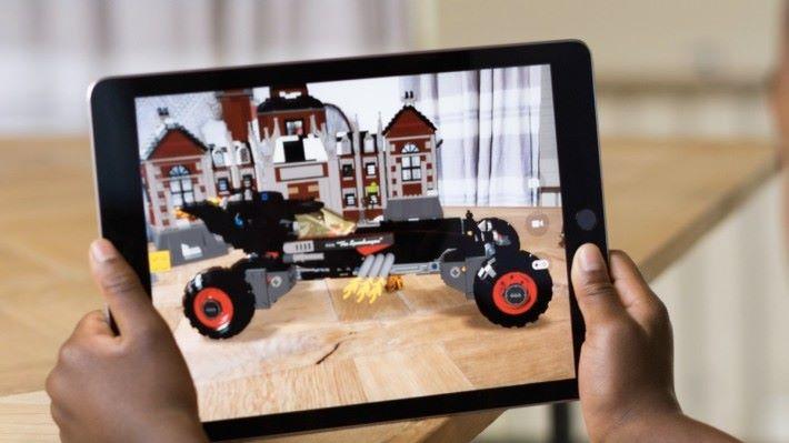 AR 讓虛擬物件與現實空間融合