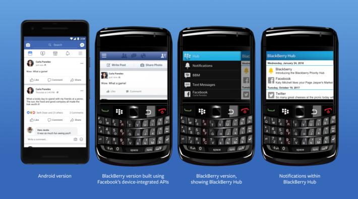 在 Facebook App 未普及的時代,Facebook 是透過提供 API 存取權,來讓手機提供 Facebook 功能。