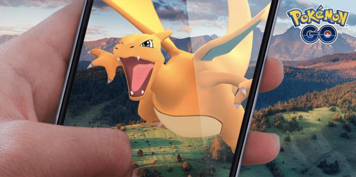 將來你或許可以以 AR 來與其他精靈訓練員在 Pokémon GO 對戰