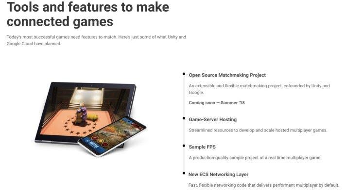 Google 與 Unity 將會推出一系列功能、工具和服務,以簡化連終遊戲開發程序。