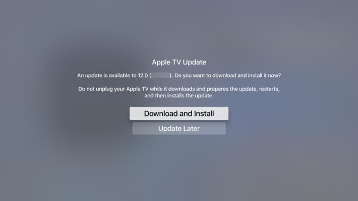 5. 選擇上面的「更新軟件」一項,就會提示你將要更新的版本,選擇「Download and Install 」便會自動完成;