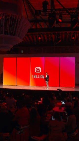 Instagram 同時公布每月活躍用戶人數突破 10 億