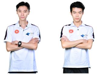 林榮祥(圖左)及吳礎鈞(圖右)將代表東亞地區將於 8 月征戰亞運《 PES 2018 》表演項目。