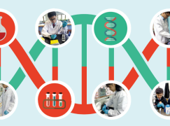 中學生研究 DNA 納米科技