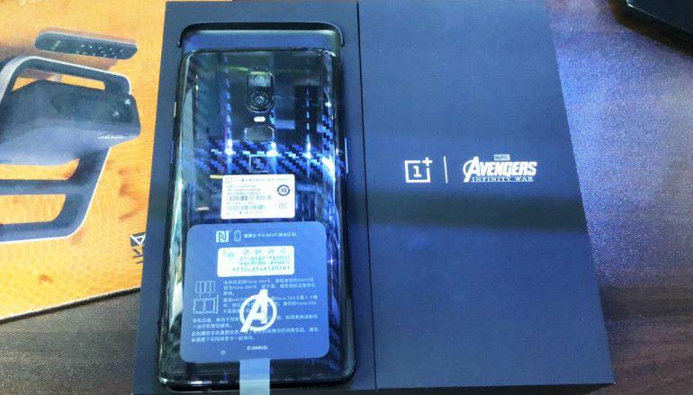 【場報】OnePlus 6 Avengers 特別版 水貨開價六千有找