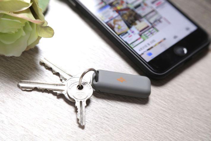 以匙扣的設計令用戶攜帶更加方便。