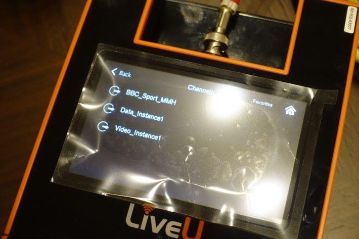 裝置亦可以透過直播或FTP方式將影片送到指定地址。