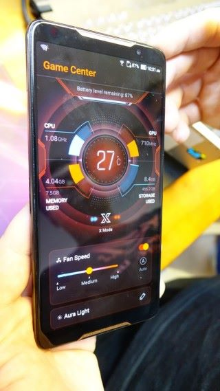 Game Center 能顯示 CPU 及 RAM 資源。