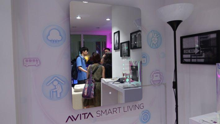 AVITA IMAGO 智能魔鏡,曾於去年 Computex 亮相。