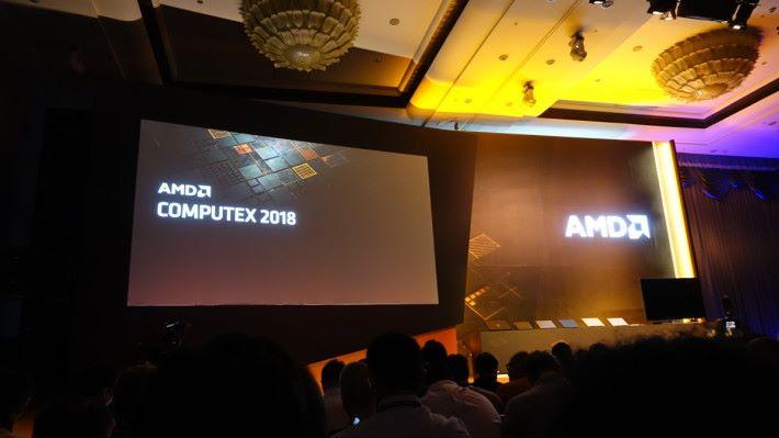 AMD Computex 2018 發表會。