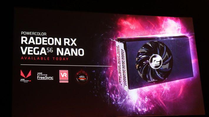 宣布推出 Vega 56 Nano