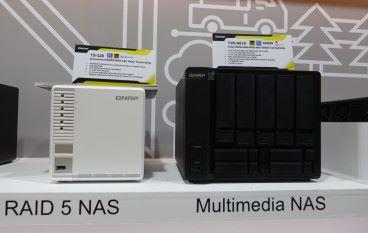 【Computex 2018】罕見 3-Bay NAS、Ryzen CPU Rack 型號 QNAP Computex 展覽全面睇