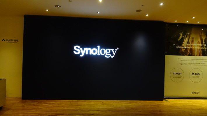 Synology Computex 展場我來啦~