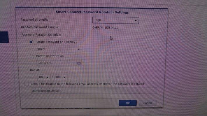 定期更換 Wi-Fi 密碼。