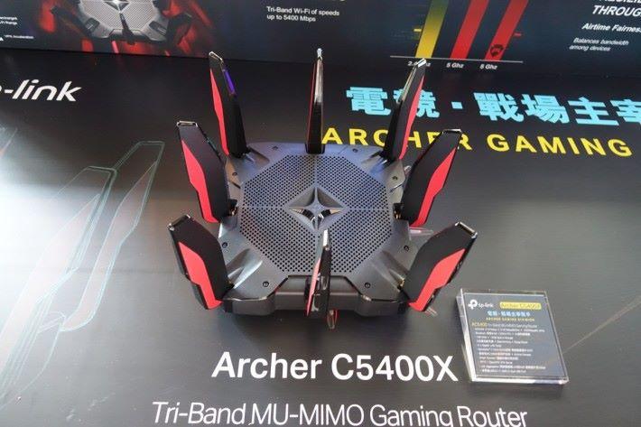 TP-Link 發表 Archer C5400X 電競 Router。