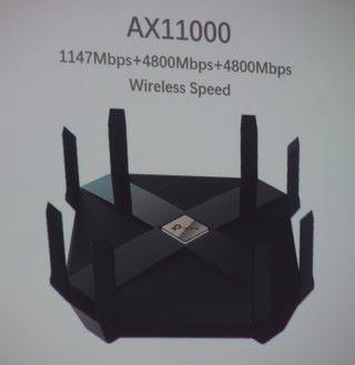 預告推出 AX11000 Router。
