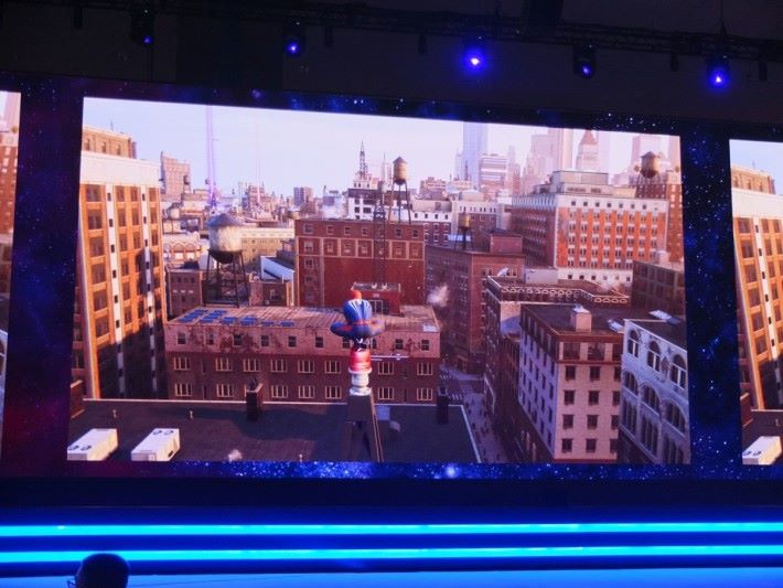 《Marvel's Spider-Man》採用 Open World 模式設計,廣闊的紐約市成為大家的舞台。