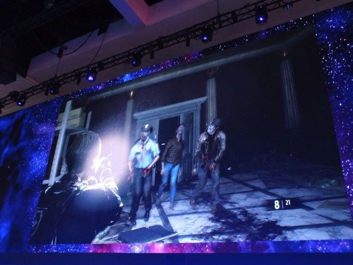 過去喪屍不會「 開門」,現在會在四方八面襲來,給予玩家極大的壓力。