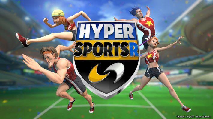 《 HYPER SPORTS R 》最多可讓 4 名玩家一起競技