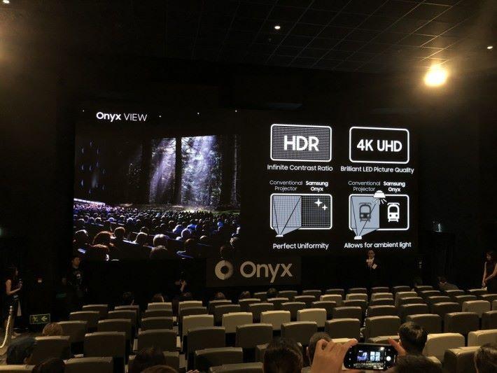 全球第 7 間採用 Samsung Onyx Cinema LED 電影屏幕的放映室正式啟用。