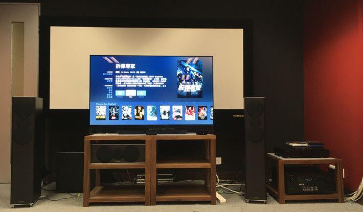 今次使用 Denon 的 AVX-X8500H 整合型網絡 AV 擴音機,配以 LG 最新的 4K OLED 電視 55E8 ,來測試 Apple TV 下的 Dolby Vision+Dolby Atmos 效果。