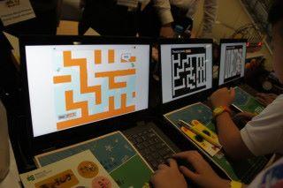 同是一款食鬼遊戲,在小學生眼中可以千變萬化。