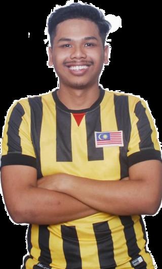 Mohamad Nor Haikal bin Mohamad Noh ( 20 歲 ) 遊戲名稱: alpha_gaming07