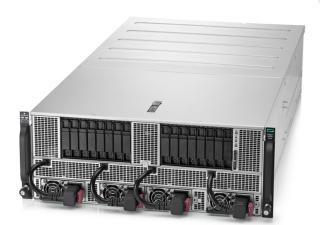 HPE Apollo 6500 可用上最多 8 張 NVIDIA 圖像處理器,以 NVLink 2.0 高速連線,支援人工智能運算工作。