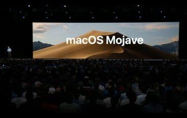 【WWDC2018】 新版 macOS 命名 Mojave 暗黑畫面集中工作