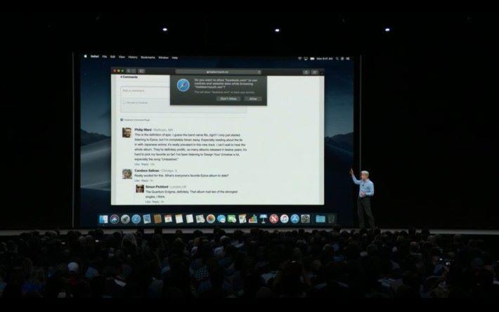 連 Facebook 社交插件的回應插件都被封,以免取得太多個人資料。