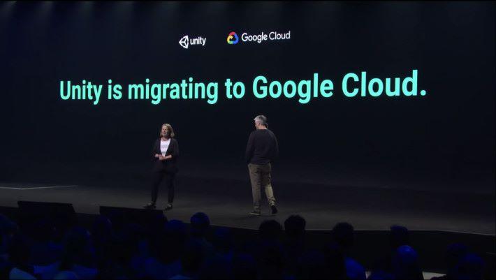 Unity 宣布與 Google 達成戰略合作協議,讓遊戲開發人可以在 Unity 裡直接使用 Google Cloud 建立連線遊戲。