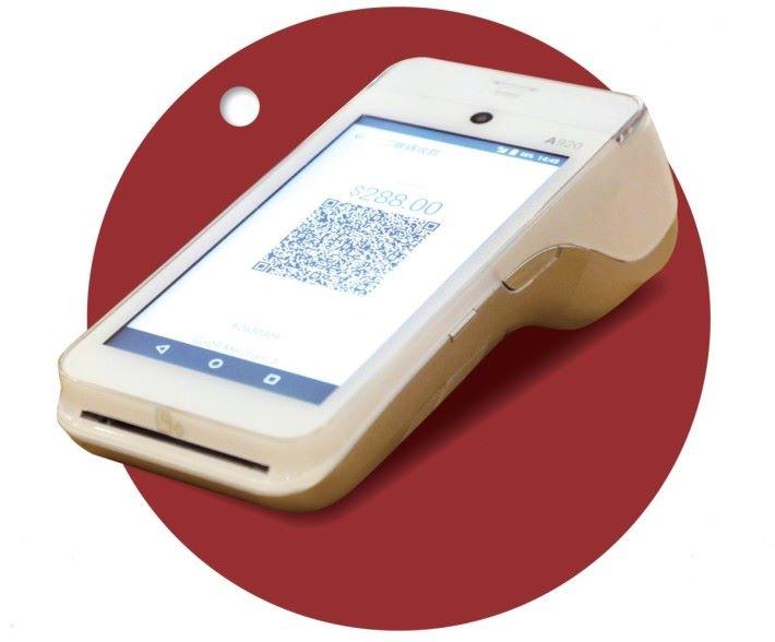 HKT Merchant Services 提供的便攜式銷售點裝置智能 POS,已採用統一 QR Code 的 EMV 制式。內置 1O1O 網絡的SIM 卡,可透過 4G/Wi-Fi 進行交易,流動性極高。